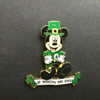 WDW - St. Patrick's Day 2003 - Leprechaun Mickey Mouse LE 3500 Disney Pin 20716