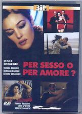 Per sesso o per amore (2005) DVD NUOVO Monica Bellucci Gérard Depardieu B. Blier