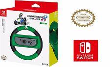 Mario Kart 8 Deluxe Joy-Con Luigi Wheel Nintendo Switch Accessory by HORI, Luigi