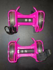 Girl's Pink Adjustable Strap Skates