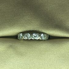 Avon 925 silver ring with cubic zirconia stones.