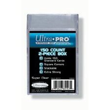 Ultra Pro 150 Card Clear Case 2 Piece - Playing Trading Protector Plastic Holder
