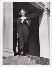 FLORENCE RICE Original CANDID Tennis Vintage 1938 CLARENCE BULL Stamp MGM Photo