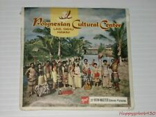 Vintage Viewmaster Polynesian Culture Center Hawaii Envelope with 3 Reels A129