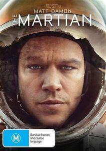 The Martian DVD (PAL, 2016) VGC, FREE POST