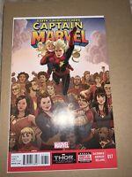 Captain Marvel # 17 (2014) NM- Cond.