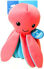 1 Count Animal Planet Pets Pink & Blue Octopus Float & Squeak Fun Dog Toy