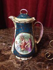 Great 19th Century Royal Vienna Chocolate Teapot Coffee Pot