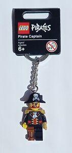 LEGO Pirate Captain Keychain/Keyring - Lego Pirates 852544 (Retired)
