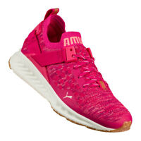 Puma 2018 Womens Ignite Evoknit Shoes Ladies Trainers UK Size 5 New Pink RRP £95