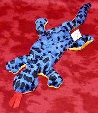 """Ty LIZZY Blue Lizard (PVC) (13"""") Beanie Baby 1997 Boys Girls 3+ NT"""