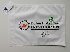 Russell Knox signed Irish Open golf flag / COA