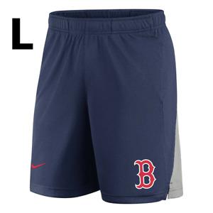 Nike MLB Boston Red Sox Baseball Shorts Men's LARGE Navy N256