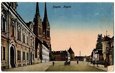 CPA CROATIE - ZAGREB. Kaptol