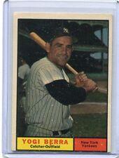 1961 Topps Baseball Card Yogi Berra New York Yankees Near Mint O/C # 425