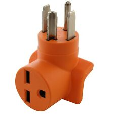 30 Amp NEMA 14-30P to NEMA 6-30R Electrical Outlet Adapter by AC WORKS®