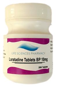 200 or 300 Loratadine Allergy Tablets - 10mg generic Claritin - SAME DAY SHIP