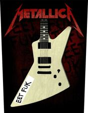 Metallica Interraciales Eet Fuk Parche De Espalda 602524 #