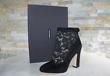 Dolce & Gabbana D & G talla 38,5 botines botas Booties negro nuevo PVP 745 €