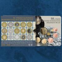 Slowakei - 50 Jahre Slowakische Numismatische Gesellschaft - KMS 2020 BU - 3,88