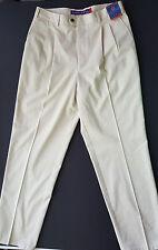 Norsport Boat Classics Pleated Pants - Smart Finish - Tan - 36x34 - NWT