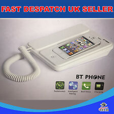 BT Phone charging dock accept calls on it for iphone 4 / 4s