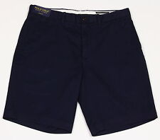 Men's POLO GOLF RALPH LAUREN Navy Blue Chino Shorts 36 NWT NEW Links Fit Stretch