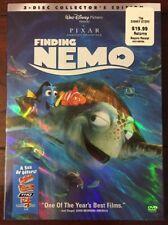 Finding Nemo 2-Disc Collector's Edition Dvd - Brand New & Sealed with Slipcover