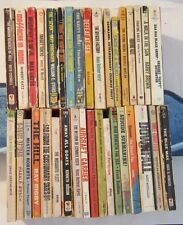Lot of 35 Vintage World War II WWII Paperbacks and Pulps