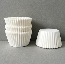 Basic White Cupcake Liners, White Cupcake Wrappers, White Baking Cups