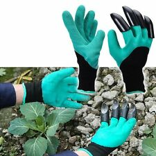 Garden Gloves with claw for digging in your garden No more messy hands