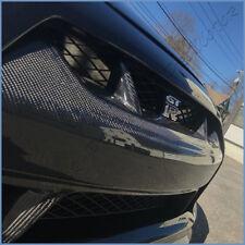For 08-11 Nissan GT-R R35 PM W Type Carbon Fiber Front Bumper Center Hood Grille