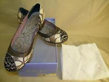 Bobbi Blu Womens DEBUT low heels shoes size US 9.5 M multi-color fabric