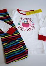Gymboree Gymmies Pajama Set Sweet Dreams Hot Cocoa Size 3T Girl Christmas PJs