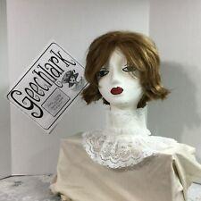 White lace Jabot COLLAR pirate Gothic Lolita Victorian Steampunk  tie 4926