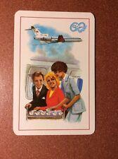 USSR Pocket Calendar 1983 Soviet Airlines AEROFLOT stewardess Service Tea coffee