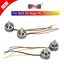 2 Pair CW & CCW 1806 1800KV Electric Brushless Motor Engine For MJX B3 Bugs 3 RC