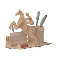 Ensemble de cheval à cheval en bois Ensemble de puzzle Ensemble 3D Jigsaw