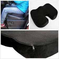 One Black Portable Vehicle SUV Seat Memory Foam Cushion Soft Mat Pad For Toyota