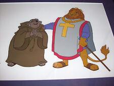 Disney Original Production Cel Art - Robin Hood - Friar Tuck and King Richard
