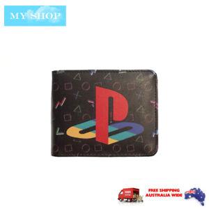 Playstation Logo 2 -  Faux Leather Bi-fold Wallet  w/Card Holder,  Coin Pocket