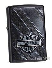 Harley Davidson ZIPPO Klassiker neu+ovp Black Matte