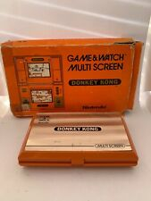 Nintendo Game And Watch Multi Screen Donkey Kong 1982 With Box **BROKEN**