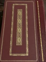 1982 Franklin Mint Library The Great Gatsby By F. Scott Fitzgerald Red Leather