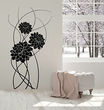 Vinyl Wall Decal Art Beautiful Bouquet Of Flowers Nature Stickers (1334ig)