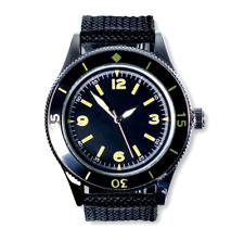 EAGLEMOSS French Navy Diver années 1950 Réplique Militaire Watch #90 New in Box 4.99 £