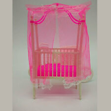 Sweet Crib For Barbie Girls Doll Furniture Kelly Doll's Baby Doll Accessories
