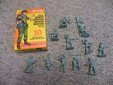 Atlantic 1/32 54mm  Box #2105 WW2 USA American Infantry RARE