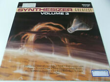 53573 - SYNTHESIZER GREATEST VOLUME 3 - 1989 ARCADE VINYL LP (ED STARINK)