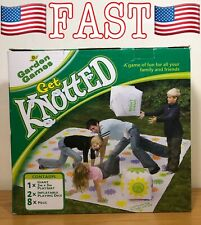 Garden Games Get Knotted 3m x 3m PVC Mat Suitable For up to 30 Players!